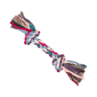 TRIXIE (Трикси) Канат c 2 узлами 20см/50г - игрушка для собак