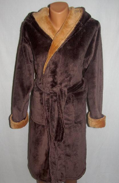 Стильный махровый халат для мальчика ( 12-14 лет) новинка сезона