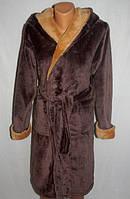 Модный махровый халат для мальчика ( 6-8  лет) оптом и в разницу
