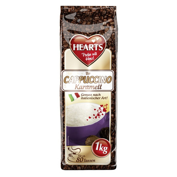 Капучино Hearts Cappuccino Karamell 1кг.