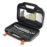 Набор бит, головок торцевых и свёрл  70 предметов BLACK+DECKER A7184 (США)