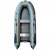 Лодка Parsun 330 со сланью зеленая