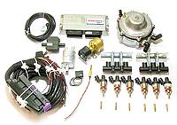 Комплект STAG-6 ISA 2, ред. Gurtner Basic 245 л.с., форс. Hana Rail, МН, штуцера, ф 1-2, ГК