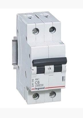 Автоматический выключатель Legrand RX3 2P 6A