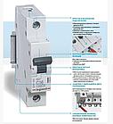Автоматический выключатель Legrand RX3 2P 6A , фото 2