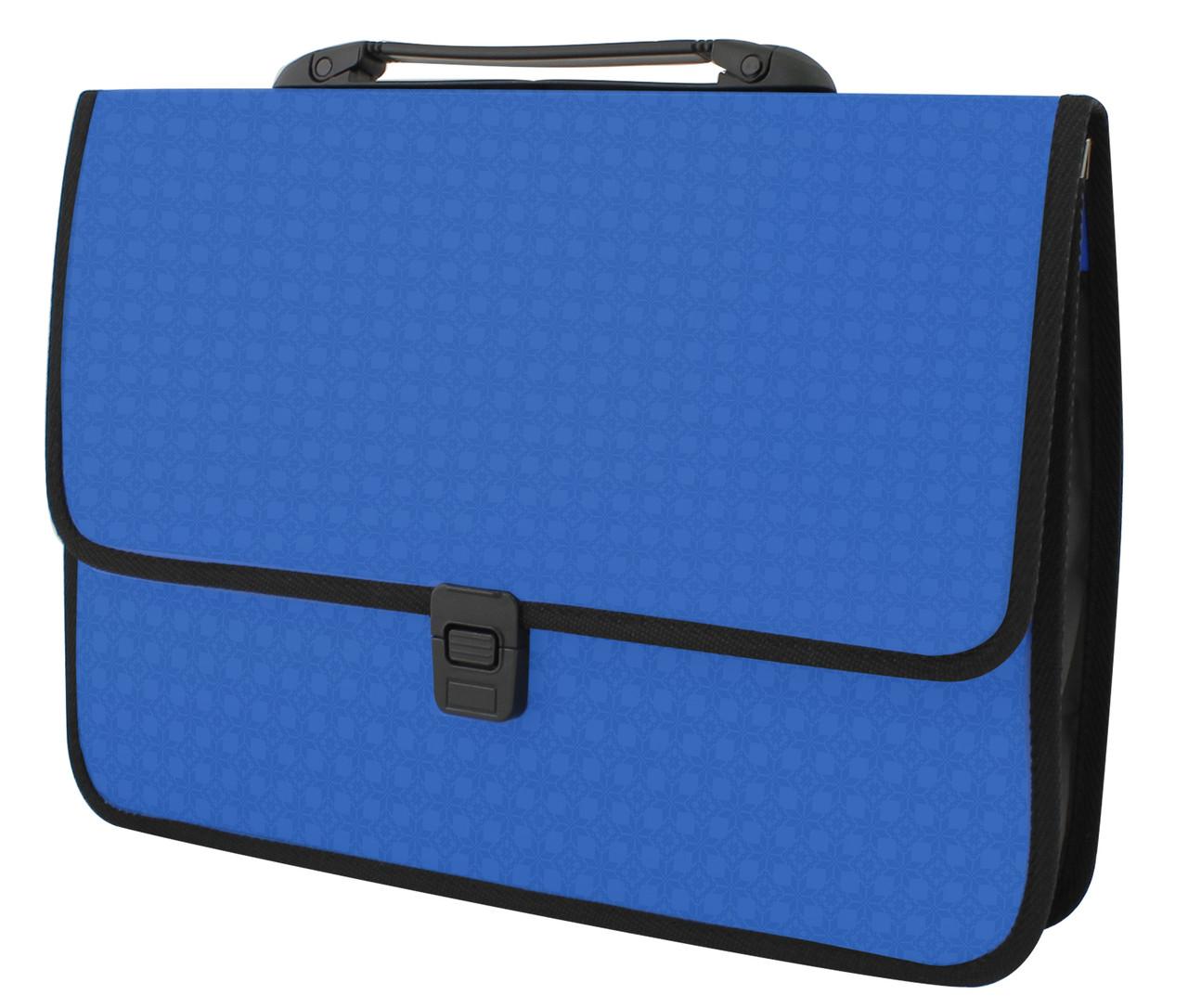 1bafef006c0f Портфель пластиковый A4 Economix на застежке, 1 отделение, фактура