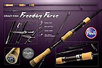 "Спиннинг ""Crazy Fish"" Freedom Force 1,5-7g 210cm"