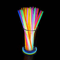 Светящиеся палочки SoFun glow stick ассорти 50 штук, фото 1