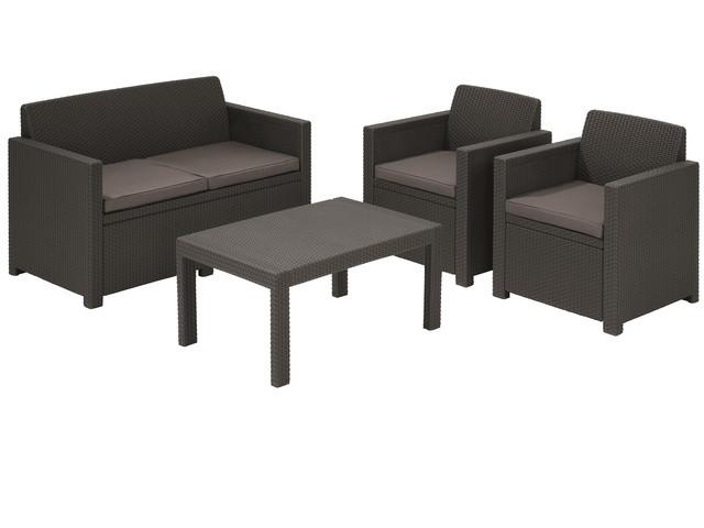 Merano set Lounge Grey