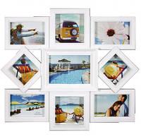 Фоторамка коллаж для фотографий на стену на 9 фото