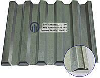Профнастил НС-35  0,5мм  цинк