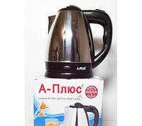 Электрический чайник из нержавеющей стали А-Плюс ЕК-1681, 1,5 кВт