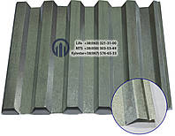 Профнастил НС-35  0,55мм  цинк