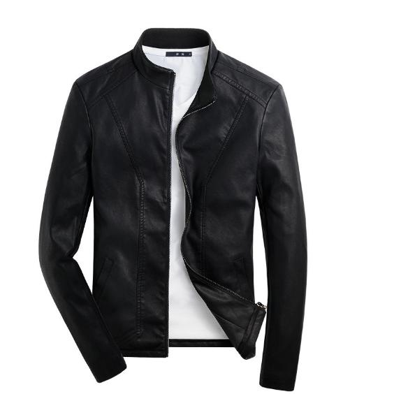 Мужская кожаная куртка. Модель 2018