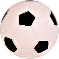 Мяч Trixie (Трикси) Soccer Ball виниловый - игрушка для собак, 10см