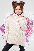 Демисезонная детская куртка для девочки Мия 28-42рр