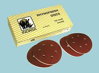 абразивный диск на поролоне 125мм INDASA RHYNOFINISH Р240-Р1500