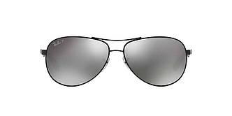 Солнцезащитные очки Ray-Ban Aviator CARBON FIBRE BLACK / GREY RB8313 61