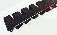 Лента гимнастическая 3,5м Черная , фото 1
