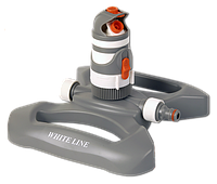 WHITE LINE Ороситель вращающийся 4-режимный на пластиковой основе, WL-Z11