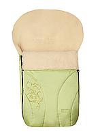 Зимний конверт на овчине N 25 Zaffiro Womar салатовый