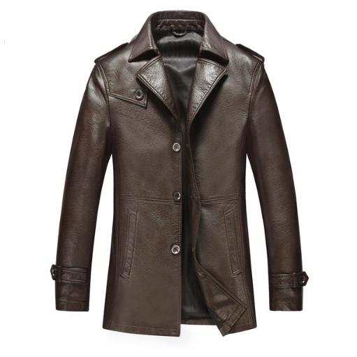 Мужская кожаная куртка. Модель 2019