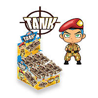 Игрушка Танк с конфетами 12 шт Aras