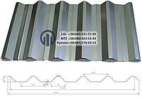 Профнастил НС - 44  0,55мм  цинк