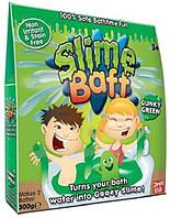 Слизь для ванной Slime Baff Green Слайм Бафф 300 г зелёный на 2 раза, фото 1