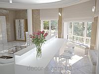 Дизайн интерьера кухни-столовой, фото 1