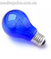 Синяя лампочка 60Вт для Рефлектора Минина