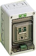 Компактний розподільчий щит EK 002, 2(3) модулів, ударостійкий полістирол
