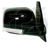 Зеркало левое электро без обогрева глянцевое 5pin Pajero Sport 2009-15