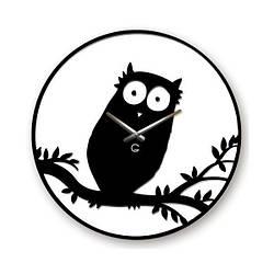 Часы На Стену (35смх35см) Owl-Сова [Акрил]