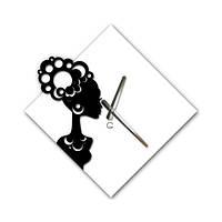 Большие Часы На Стену (45смх45см) Mulatto [Акрил, Открытые]