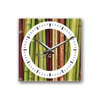 Часы На Стену (30смх30см) Bamboo [Акрил, Открытые]