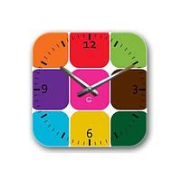 Часы На Стену (30смх30см) Palette [Акрил, Открытые]