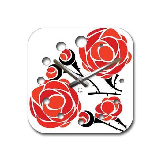 Часы На Стену (30смх30см) Rose [Акрил, Открытые]