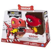Интерактивный динозавр с рыбкой Zoomer Chomplingz Interactive Dinosaur Raider , фото 1
