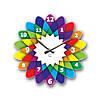 Часы На Стену (35смх35см) Kaleidoscope [Акрил, Открытые]