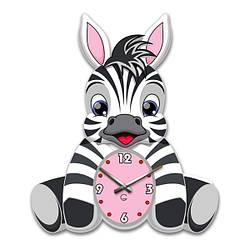 Часы На Стену (35смх30см) Zebra [Акрил]