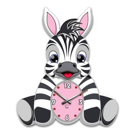 Часы На Стену (35смх30см) Zebra [Акрил, Открытые]