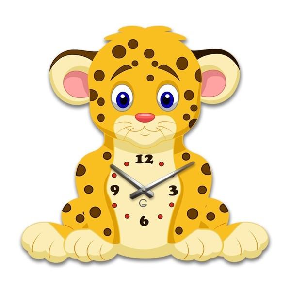 Часы На Стену (35смх35см) Leo [Акрил, Открытые]