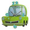 Часы На Стену (35смх35см) Car [Акрил, Открытые]