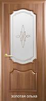 Двери Рока Р1 стекло сатин