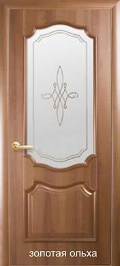 """Двери Рока стекло с рисунком Р1 пвх """"De Luxe"""""""