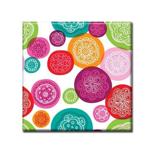 Картина на холсте (50х50 см) Confetti