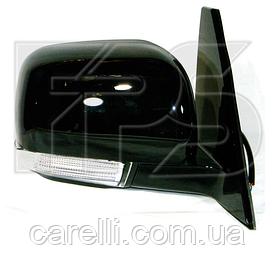 Зеркало левое электро без обогрева глянцевое 5pin с указателем поворота без подсветки Pajero 2007-