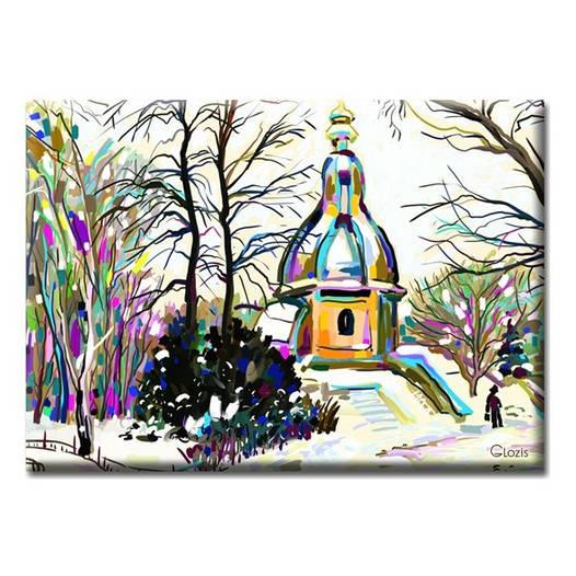 Картина на холсте (50х35 см) Winter