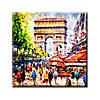 Картина на холсте (50х50 см) Paris
